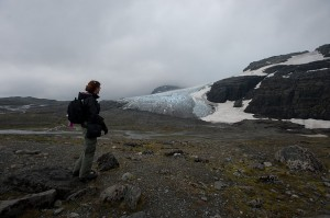 Remke heading to Blaisen Glacier, Norway, hoping to make new work...